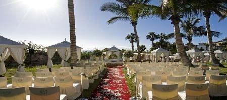 Teneriffa, Hochzeit im Freien, Hochzeit unter Palmen