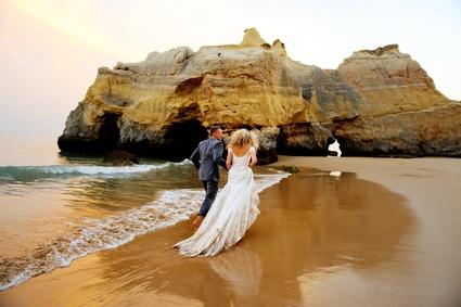 Heiraten am strand portugal